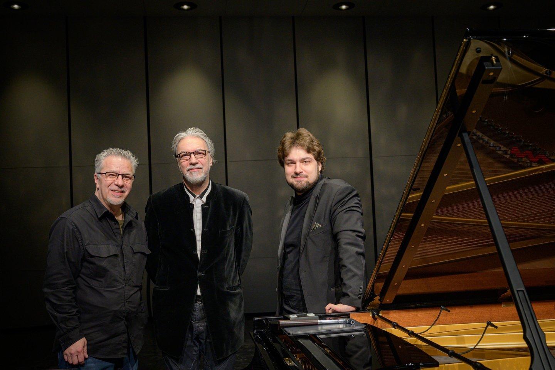 Julius, Petras ir Lukas.<br>LNOBT archyvo nuotr.