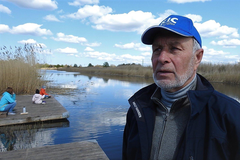 Klaipėdos irklavimo centro vadovas L.Mileška.<br>G.Pilaičio nuotr.
