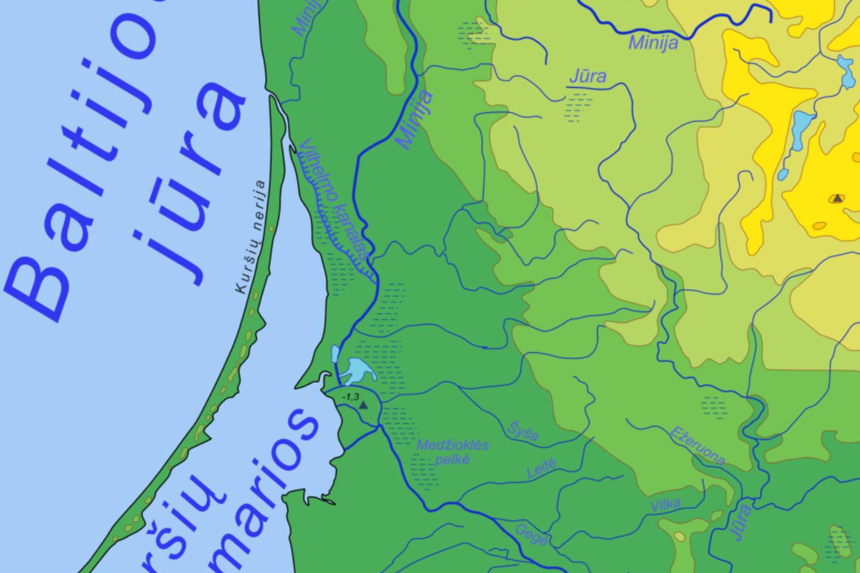 Klaipėdą ir Miniją sujungusiu kanalu galima nuplaukti iki Nemuno žemupio.