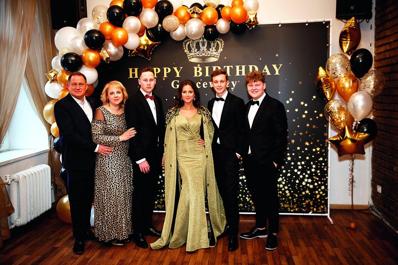 Šiemet kovą dvidešimtojo gimtadienio sulaukė Ričardo ir Kristinos Gancevskių ketvertukas: sūnus Danielius (iš kairės), dukra Evelina ir sūnūs Augustinas bei Robertas.
