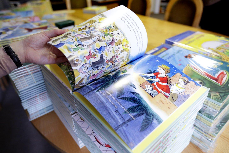 Praėjusiais metais vaikai skaitė valanda daugiau nei anksčiau.<br>V.Balkūno nuotr.