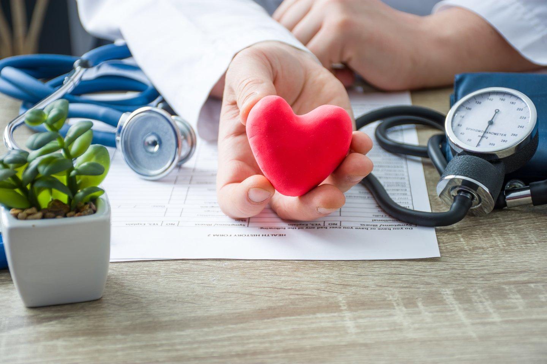 Širdies ir kraujagyslių ligos yra viena dažniausių mirties priežasčių Lietuvoje.<br>123rf nuotr.