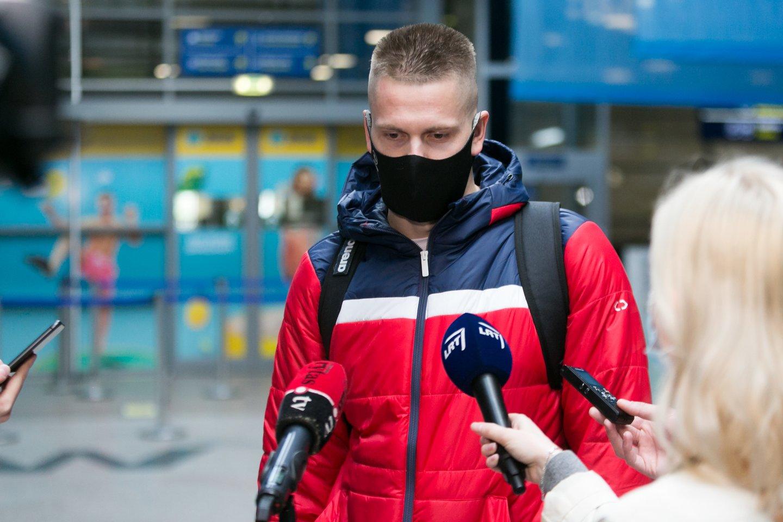 Lietuvos plaukikai išvyksta į Budapeštą.<br>T.Bauro nuotr.