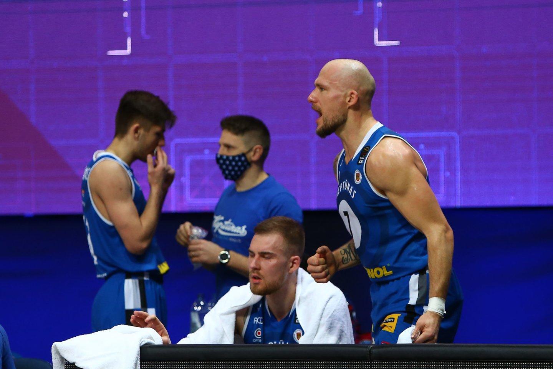 """LKL ketvirtfinalyje susigrums """"Lietkabelio"""" ir """"Neptūno"""" krepšininkai.<br>G.Šiupario nuotr."""