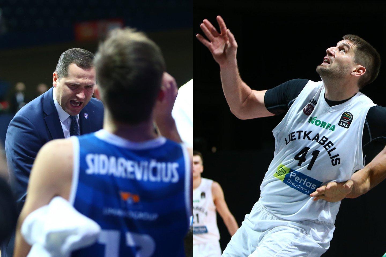 """LKL ketvirtfinalyje susigrums """"Lietkabelio"""" ir """"Neptūno"""" krepšininkai.<br>Lrytas.lt nuotr. koliažas."""
