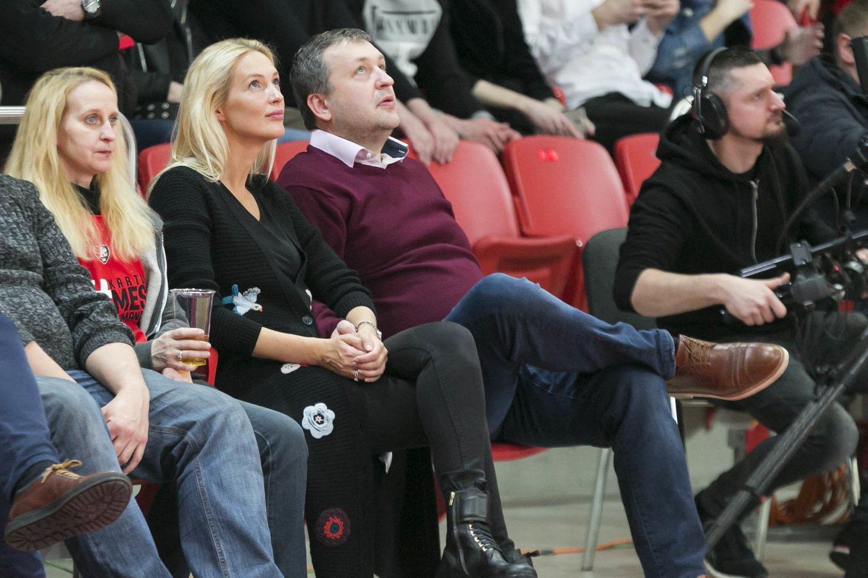 Antanas Guoga su žmona Aiste.<br>T.Bauro nuotr.