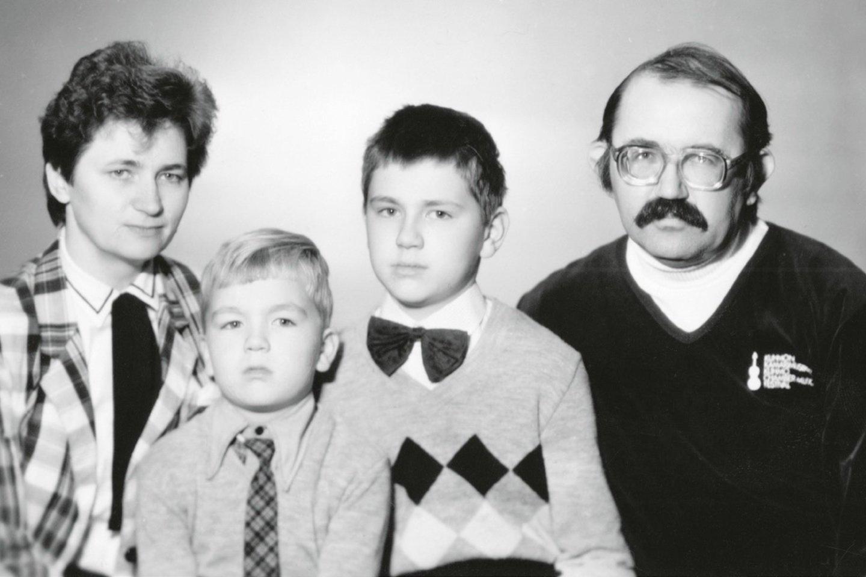 Donato Katkaus šeima.<br>Leidėjų (asmeninio autoriaus archyvo) nuotr.