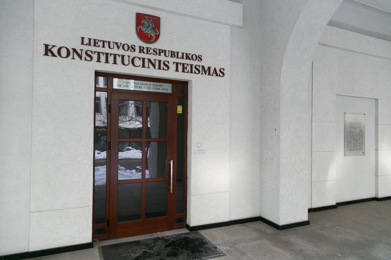 Konstitucijai prieštaraujančiu pripažintos ir 2019-ųjų pabaigoje priimtos Akcizų įstatymo pataisos.<br>T.Bauro nuotr.
