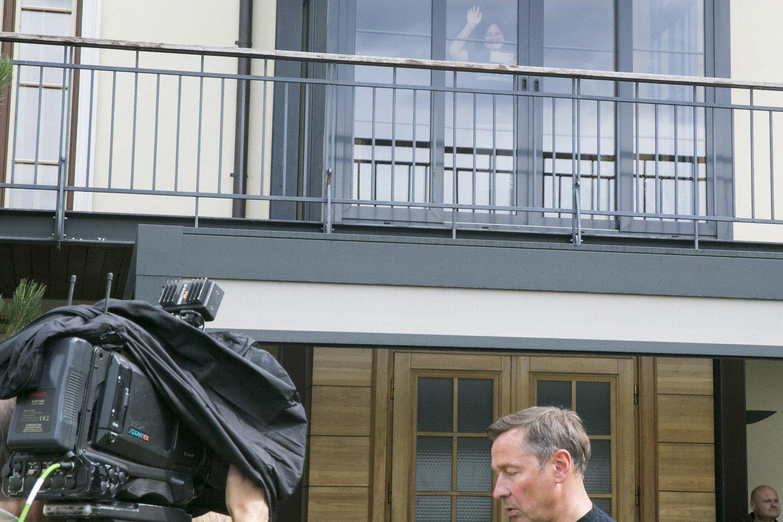 """Registrų centro duomenimis, nuo balanžio 22 dienos naujas Zuokų namo savininkas – bendrovė """"Smart &amp; Easy"""".<br>T.Bauro nuotr."""