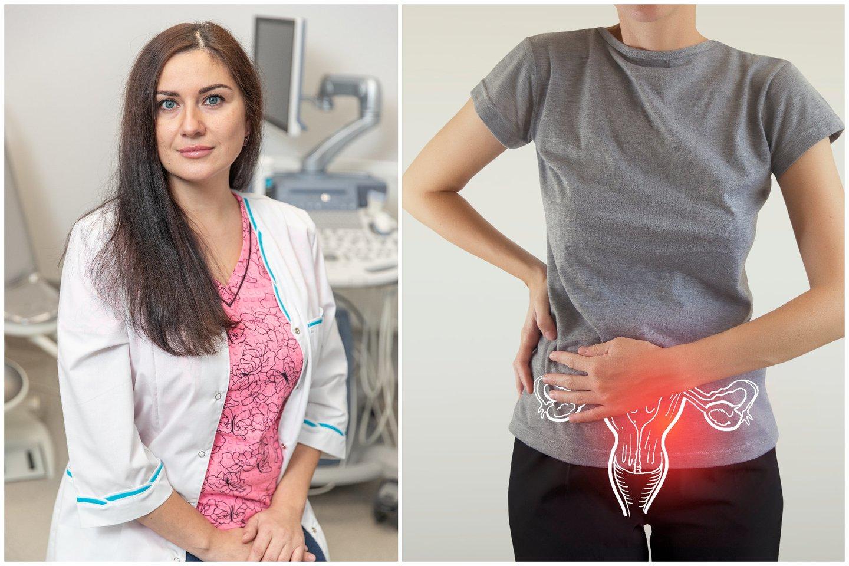 Gimdos kaklelio vėžys yra dažna moterų onkologinė liga.<br>123rf ir lrytas.lt nuotr. koliažas