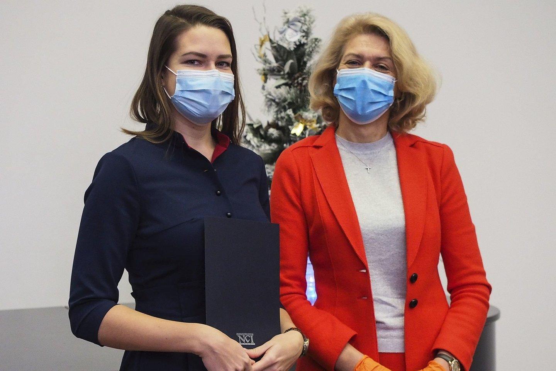 Dr. K. Šnipaitienė ir prof. S. Jarmalaitė.<br>Asmeninio archyvo nuotr.