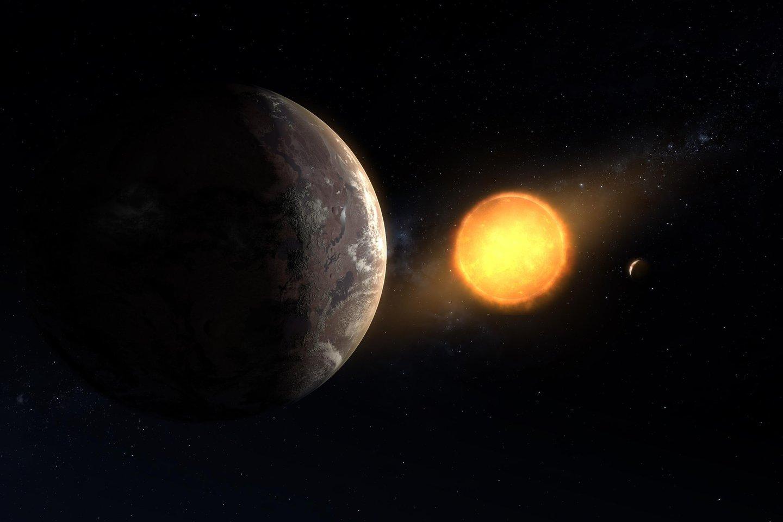 Šiuo metu žinoma apie penkis tūkstančius egzoplanetų, ir jų nuolat atrandama vis daugiau.<br>NASA iliustr.