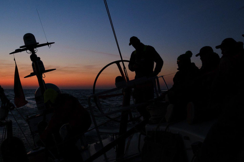 """Ambersail-2"" jachta ""The Ocean Race Europe""<br>E.Bareikos nuotr."