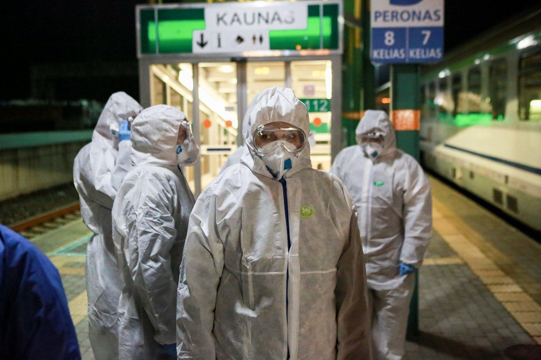 Koronavirusas Lietuvoje<br>G.Bitvinsko nuotr.