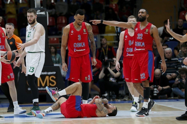 CSKA klubas dar turės kovoti ketvirtfinalyje.<br>vk.com/cskabasket nuotr.
