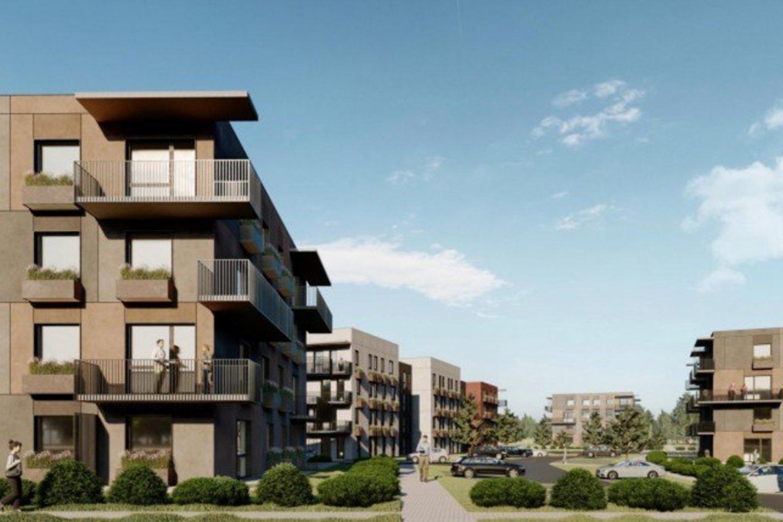 """Vilniaus miesto savivaldybei pateikti projektiniai siūlymai, kuriuos ruošė UAB """"Eventus Pro"""". Projektiniuose pasiūlymuose nurodoma, jog netoli Molėtų plento, Mažuosiuose Gulbinuose, planuojama statyti naują daugiabučių namų kvartalą.<br>Vizual."""