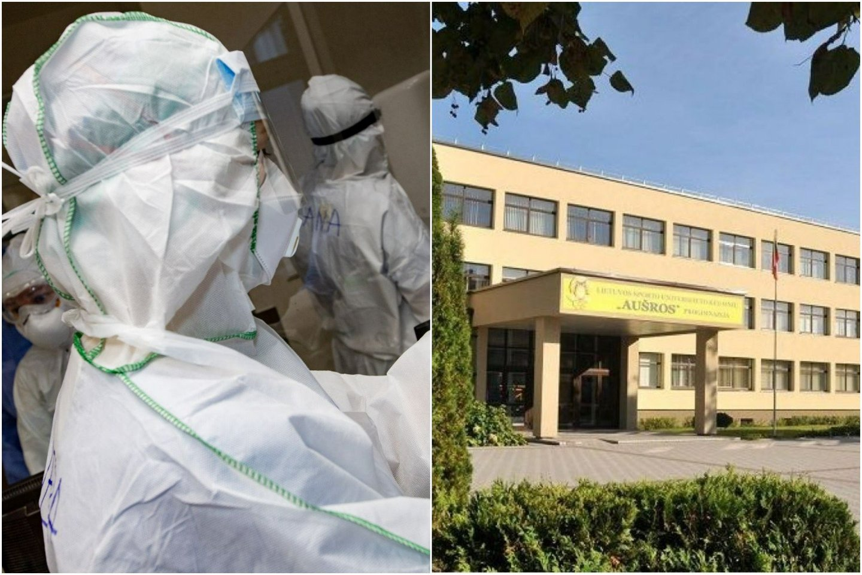Mokykloje bėdų pridarė įsisukęs rotavirusas, o tada paaiškėjo, kad nustatyti ir COVID-19 atvejai.<br>lrytas.lt koliažas.