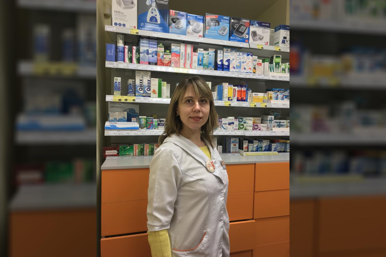 Vaistininkė Kristina Šnirpūnienė<br>Pranešimo spaudai nuotr.