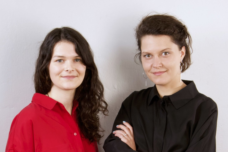 """""""Mindletic"""" įkūrėja Ieva Vaitkevičiūtė (dešinėje) ir verslo partnerė Ieva Šapalaitė (kairėje)."""