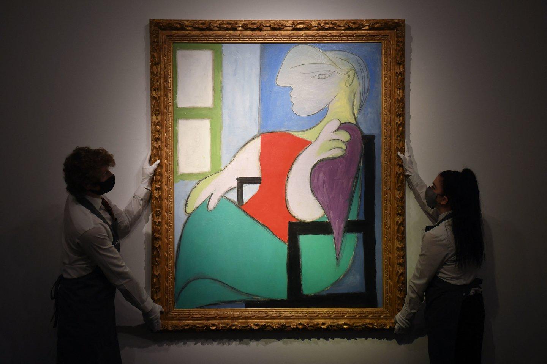 P.Picasso paveikslas.<br>Scanpix/AFP nuotr.