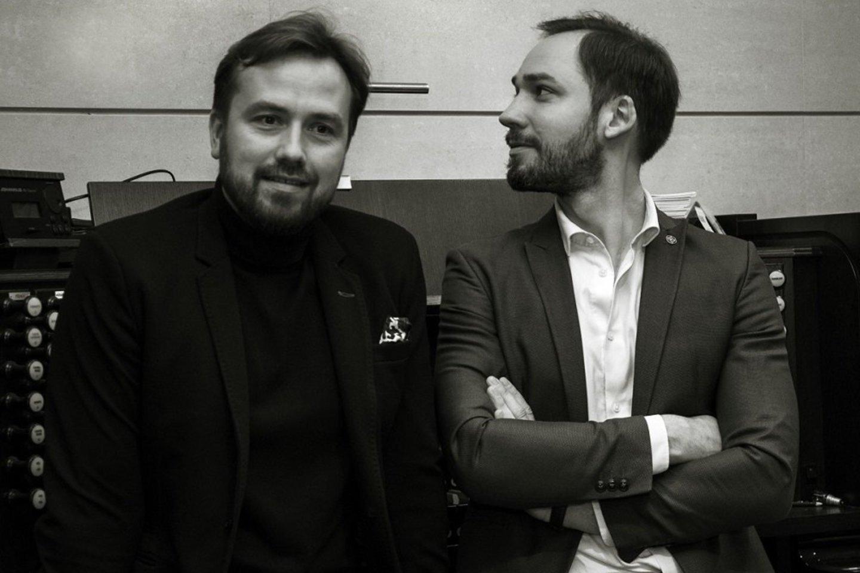 D.Mažintas ir J.Sakalauskas.<br>Asmeninio albumo nuotr.