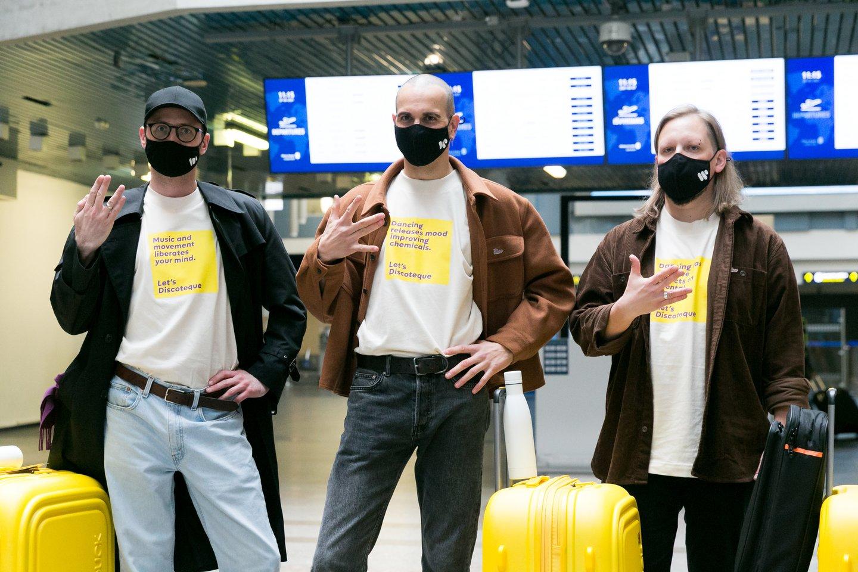 """Agentūra tužsieniečių dėmesį tikisi atkreipti turizmo rinkodaros kampanija """"Break you screen routine in Lithuania"""", kurios lyderiais taps """"The Roop.""""<br>T.Bauro nuotr."""