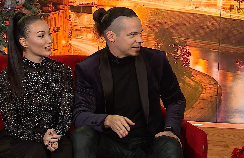 Jeronimas Milius ir Karina Krysko papasakojo apie<br>Stop kadras.