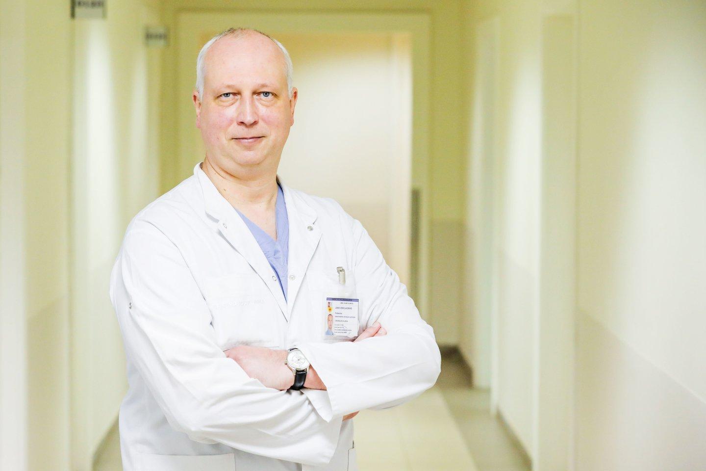 prof. Linas Venclauskas<br>Kauno klinikų nuotr.