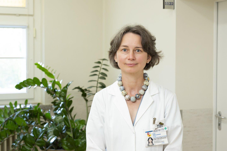 gydytoja onkologė chemoterapeutė doc. Rasa Jančiauskienė<br>Kauno klinikų nuotr.