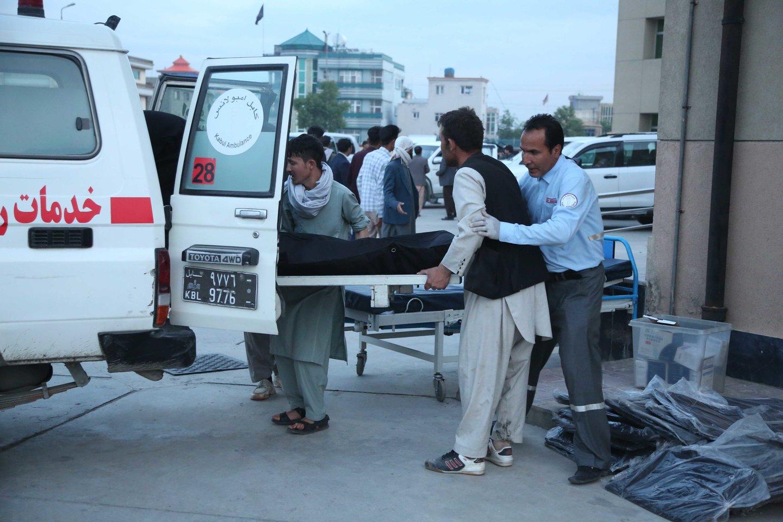 Afganistane per sprogimą mečetėje žuvo mažiausiai keturi žmonės. <br>ZUMA Press/Scanpix nuotr.