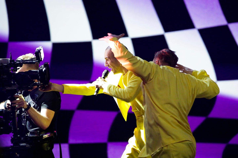 Antroji grupės repeticija.<br>EBU/ THOMAS HANSES nuotr.