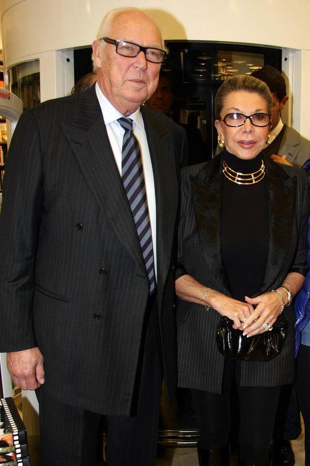 Victoras Emmanuelis su žmona.<br>Scanpix nuotr.