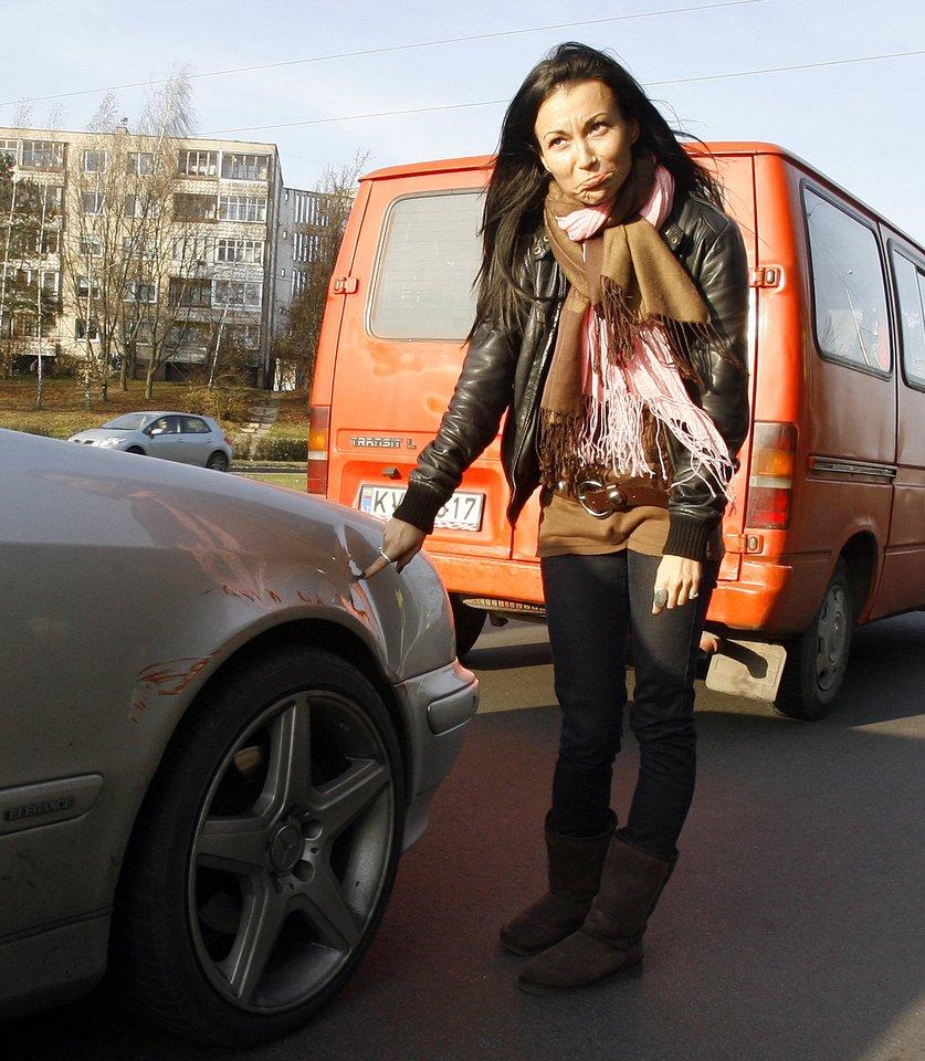 Karina Krysko 2008-ųjų lapkritį.<br>R.Neverbicko nuotr.