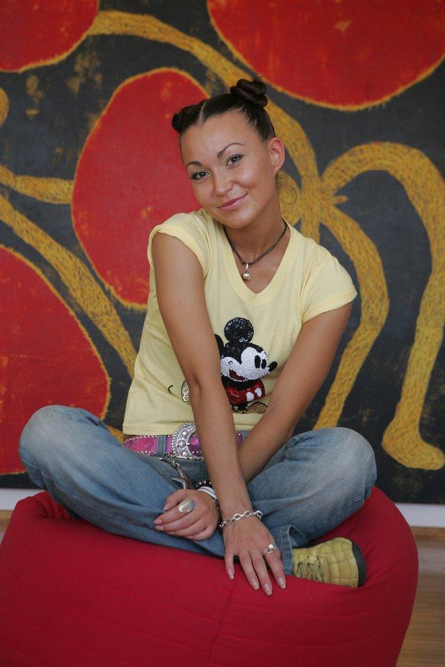 Karina Krysko 2005-ųjų rugpjūtį.<br>M.Požerskytės nuotr.