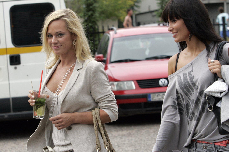 Ingrida Martinkėnaitė ir Karina Krysko 2010-ųjų gegužę.<br>V.Balkūno nuotr.