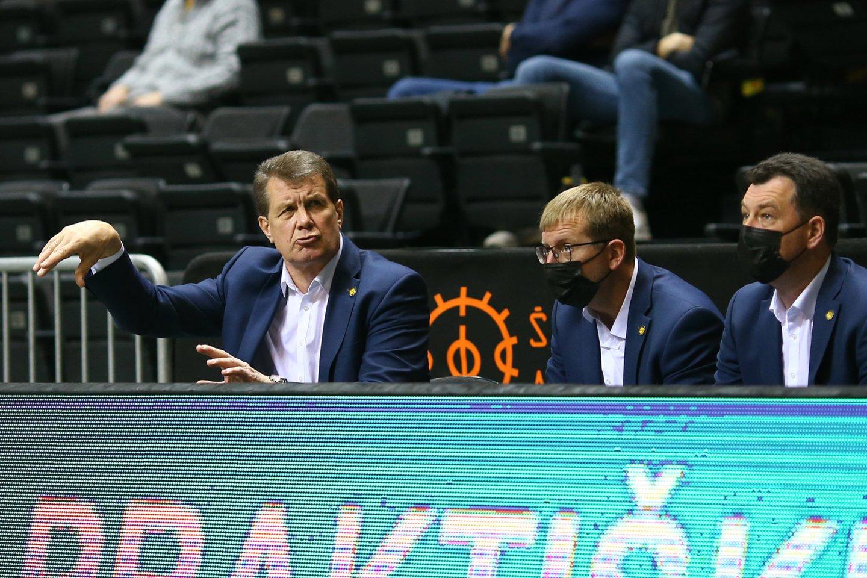 Šiaulių ekipoje buvo rastas teigiamas COVID-19 atvejis.<br>G.Šiupario nuotr.