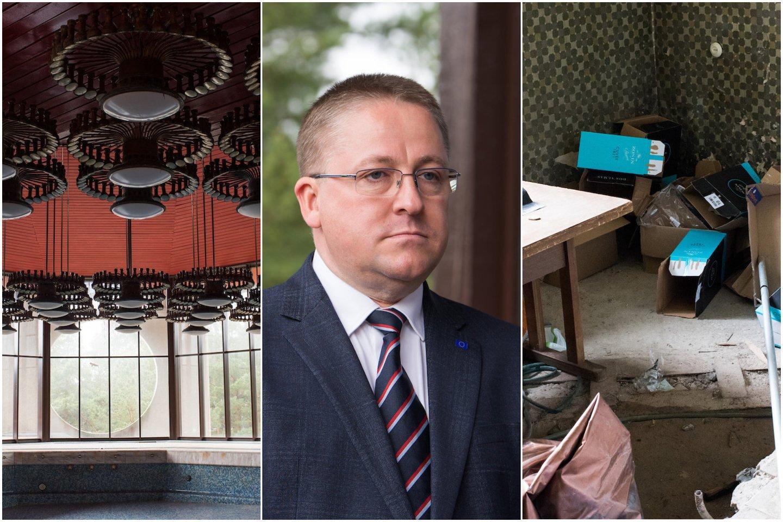 Pasak Š.Vaitkaus, Palangos miesto savivaldybė kreipėsi į Lietuvos generalinę prokuratūrą dėl galimo valstybės turto iššvaistymo.<br>Lrytas.lt montažas.