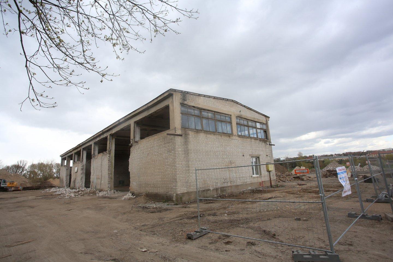 Nemuno pakrantė, Minkovskių gatvė, NT, statybos, čia bus naujas kotedžų kvartalas<br>M.Patašiaus nuotr.