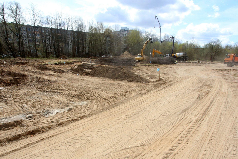 """""""Paparčio žiedas"""", naujos statybos, Partizanų gatvė, NT<br>M.Patašiaus nuotr."""