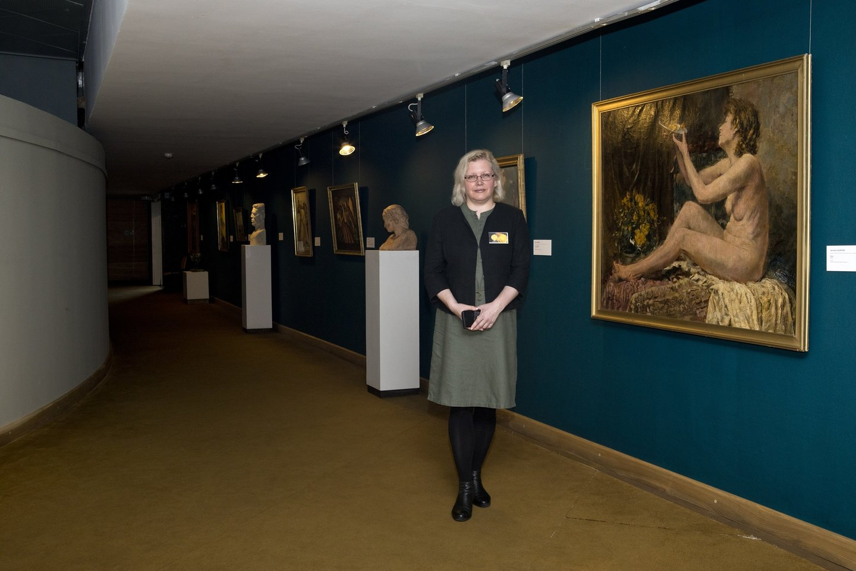 2020 metų muziejininkė A.Vasiliauskienė dirba Nacionaliniame M.K.Čiurlionio dailės muziejuje.