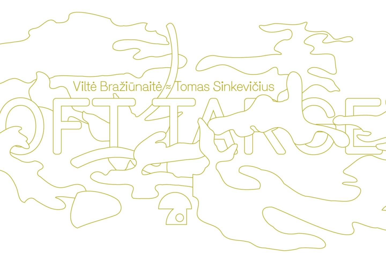"""Specialiai naujai galerijos erdvei pritaikytą instaliaciją """"Soft Target"""" iš vaško sukūrė menininkų duetas V.Bražiūnaitė ir T.Sinkevičius."""
