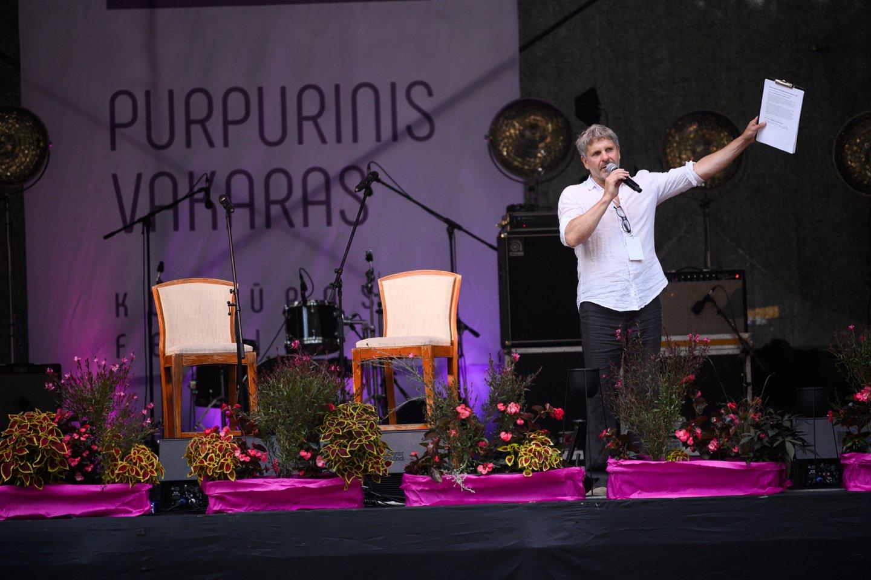 """Festivalis """"Purpurinis vakaras"""" Anykščiuose vyks 14-ą kartą."""