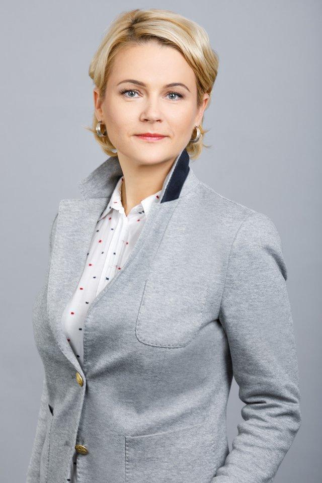 """""""Maximos"""" Komunikacijos ir įvaizdžio departamento vadovė Ernesta Dapkienė."""