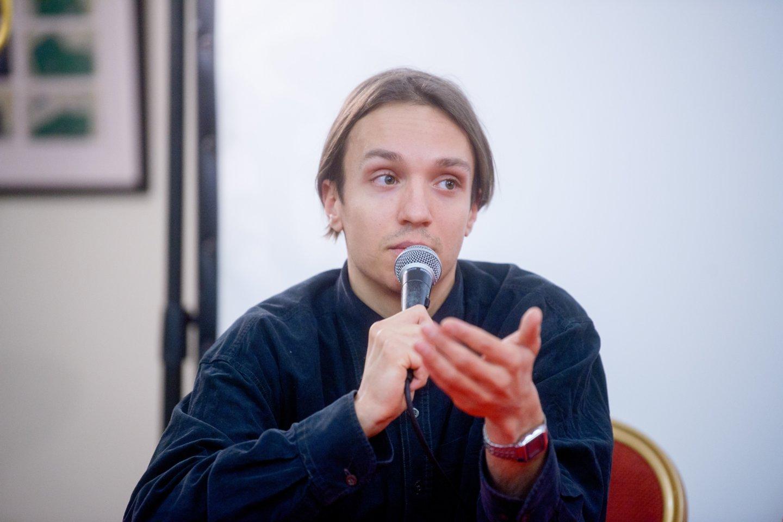 Komikas O.Šurajevas.<br>J.Stacevičiaus nuotr.