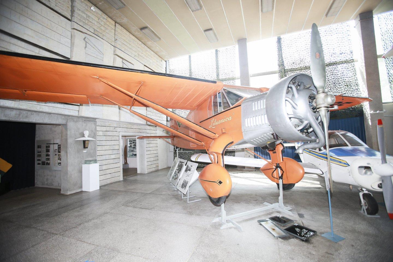 Lietuvos aviacijos muziejus.<br>G.Bitvinsko nuotr.