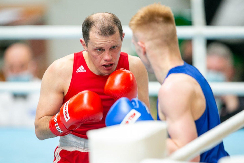 A.Šociko bokso turnyro finaluose į ringą lips keturi lietuviai.<br>S.Čirbos nuotr.