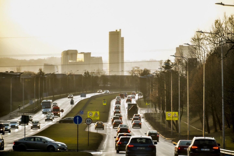 Lietuvos planą sudaro įvairūs komponentai, vienas jų – tvarus transportas.<br>V.Ščiavinsko nuotr.