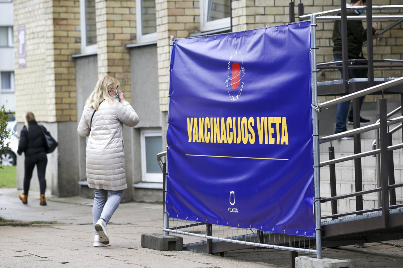 Vakcinacija nuo COVID-19<br>Mariaus Morkevičiaus/ELTA nuotr.