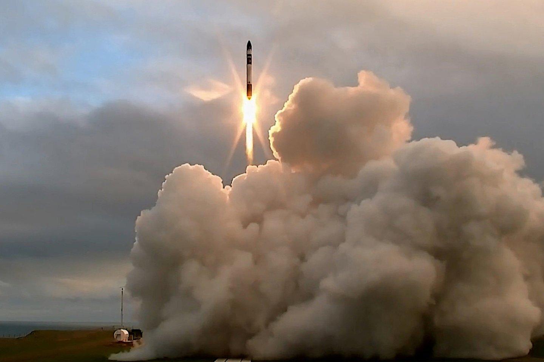 """Raketa """"Electron"""" pirmasis skrydis įvyko 2017-aisiais, nepavykusioji misija buvo 20-asis šio tipo raketos skrydis.<br>""""Reuters/Scanpix"""" nuotr."""
