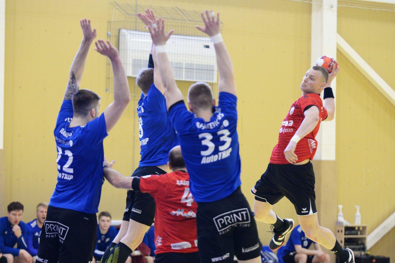 "Vilniaus VHC ""Šviesa"" iškovjo pirmąją pergalę finale.<br>Vilniaus VHC ""Šviesa"" nuotr."
